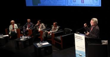 Eventos e Fotografia no 'Symposium Internacional: More heallth, Better policies: Working for the Future'
