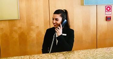 Finalista de Turismo em estágio no Hotel Sana Malhoa