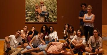 Alunos de Técnico de Fotografia visitam museu Coleção Berardo.