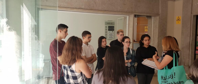 Colaboração em evento empresa 'Alfacinha Lx' - alunos TT e TOE