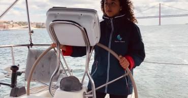Aluna finalista do Curso de Turismo em FCT na Marlin Boat Tours