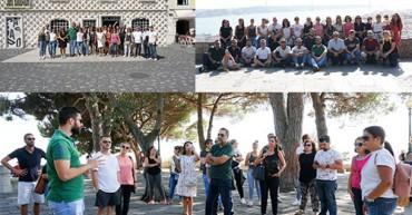Roteiro turístico por zona histórica reúne equipa EPAD