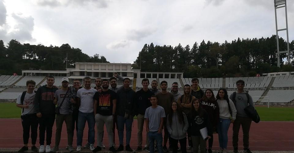 Curso de Técnico de Gestão Desportiva em visita ao CDNJ