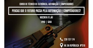 Curso Profissional Eletrónica, Automação e Computadores