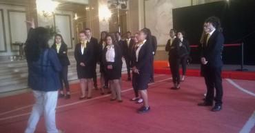 2º ano de Técnicos de turismo em Visita ao Teatro Dona Maria