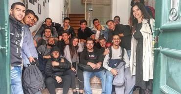 Turma finalista de Técnico de Apoio à Gestão Desportiva visita Casa Fernando Pessoa