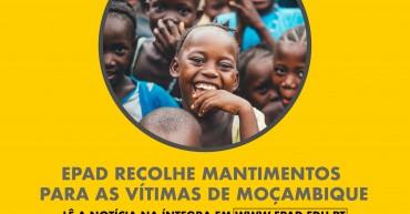 EPAD recolhe mantimentos para as vítimas do ciclone em Moçambique