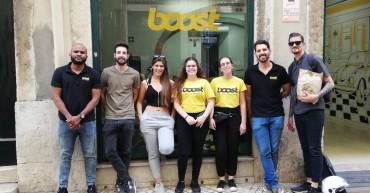 Alunas de Turismo em estágio na Boost Portugal